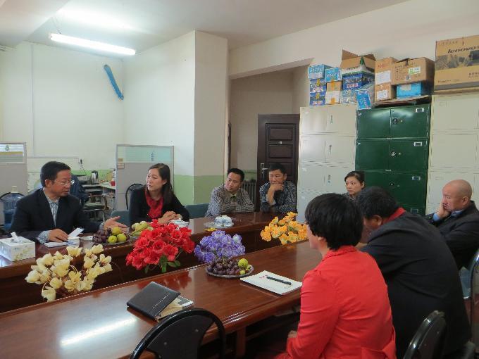 克拉玛依市副市长王更生到雷火官网下载公司调研