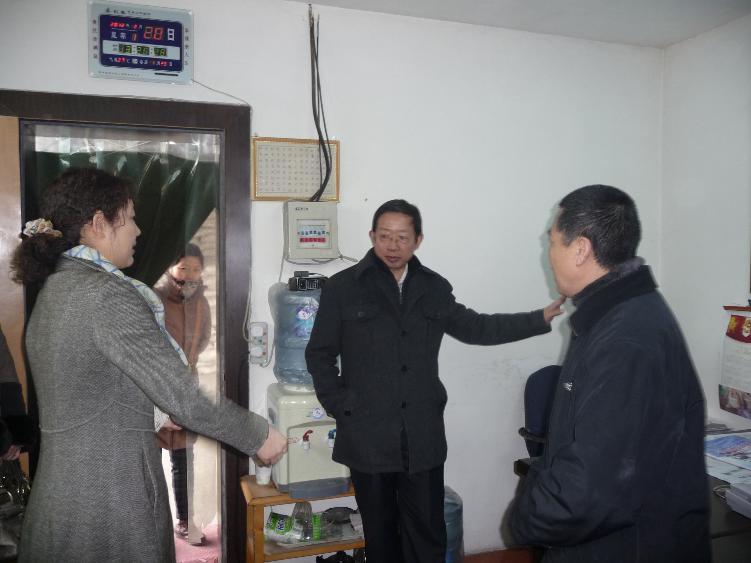克拉玛依市副市长王更生到我公司指导工作